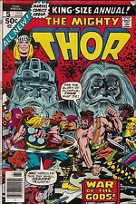 Marvel Comics! The Mighty Thor! King Size Annual! Issue 5!