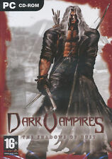 DARK VAMPIRES The Shadows of Dust Vamp PC Game NEW BOX!