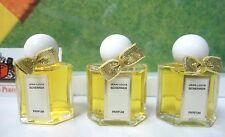 *VINTAGE* LOT OF 3 OLD FORMULA JEAN-LOUIS SCHERRER PURE PARFUM .17 OZ / 5 ML