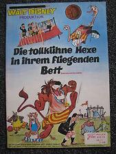 Neuer Filmkurier-Nr.77-Walt Disney-Die tollkühne Hexe in ihrem fliegenden Bett