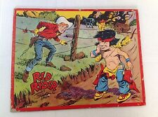 Vintage Red Ryder Puzzle and Comic      Little Beaver