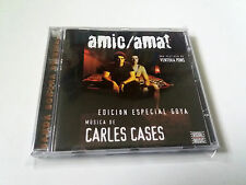 "ORIGINAL SOUNDTRACK ""AMIC / AMAT"" CD 8 TRACKS CARLES CASES BANDA SONORA OST BSO"