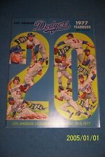 1977 LOS ANGELES DODGERS Yearbook Steve GARVEY Davey LOPES Bill RUSSELL Ron CEY
