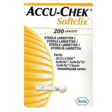Accu Chek SoftClix - 200 Lancets with fresh Expiry 07/2020