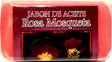 Nuevo Jabon De Aceite ROSA MOSQUETA New Soap Rose Hip Oil Essential Oils Rosehip