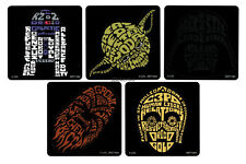 10 Star Wars Shaped Stickers Kid Reward Party Goody Loot Bag Filler Favor Supply