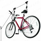 Bicycle Storage Pulley/Hoist STRONG Basement Garage Cycle Rack Hanger Bike Lift