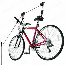 Bicycle Storage Rack LIFTS UP TO 20KG For Garage/Basement HEAVY DUTY Bike Hanger
