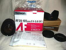 Tamron AF (IF)79D 28-105mm F/4-5.6 Lens for Minolta  New Old Stock #Gloria
