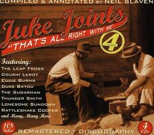 Juke Joints 4-Thats All Right With Me - Juke Joints 4-That's All  (2013, CD NEU)