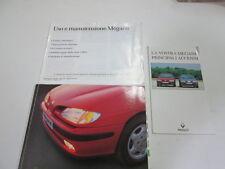 Manuale uso e manutenzione Renault Megane Edizione 1997   [3283.14]