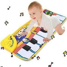 Kid Baby Singing Animal Piano Touch Keyboard Music Carpet Mat Learning Pad Toy S