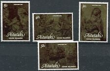 Aitutaki 1981 Natale 304-07 mnh