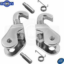 67-69 Camaro Firebird Convertible Top Latch Latches Knuckle Hook & Spring PAIR