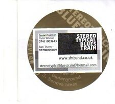 (DP864) Stereotypical Blues Train, Down And Out - DJ CD