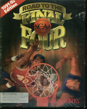 ROAD TO THE FINAL FOUR NCAA 1991- 92 EDITION VINTAGE SOFTWARE