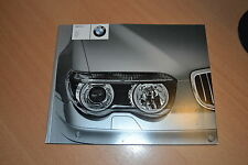 CATALOGUE BMW série 7 de 2002