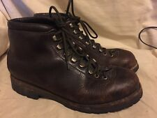 Vintage Fabiano Leather Hiking Mountaineering Boots Womens 10 Euro 40 Italy