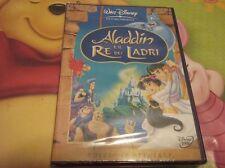 cofanetto+DVD DISNEY- ALADDIN RE DEI LADRI -NUOVO/SIGILLATO/ORIGINALE