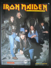 BIOGRAPHIE IRON MAIDEN RARISSIME EN FRANCAIS 1996 64 PAGES MUSIC ROCK