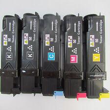 5x Fuji Xerox CP305D CM305DF toner cartridge 2BK+CMY