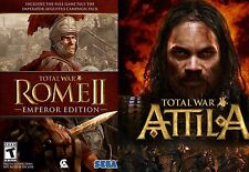 Total War: ROME II (2) - Emperor Edition + Attila PC & Mac [Steam Key] No Disc