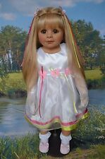 "Masterpiece Dolls Butterfly Princess by Monika Peter-Leicht, 35"" Slight Defect"