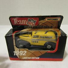 SAN DIEGO CHARGERS New in Box 1992 Limited Edition Matchbox Truck