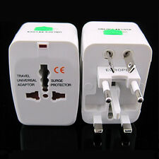 EU AU UK US To Universal World Traveling AC Power Plug Convertor Adapter Socket