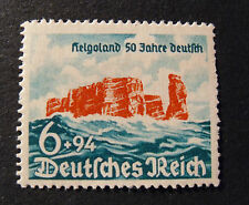 "GERMANIA ,GERMANY1940 D.REICH "" 50° riannessione Heligoland"" 1V.Cpl SET MNH**"