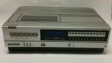 Vintage Sanyo Beta VCR4400 Top Load For Parts Or Repair Powers On As Is