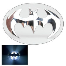 Silver Cute 3D Bat Shape Car Truck Emblem Badge Decal Sticker New E