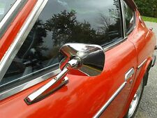 Datsun 240Z,260Z,280Z, Nissan 280ZX L&R DOOR MIRROR SET- GORGEOUS Universal fit!