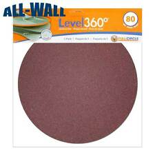 "Radius 360 Drywall Sanding Discs, 9"" 80-Grit (5 Pack) Fits PC 7800 *NEW*"
