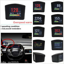 Car Auto OBD Smart Digital Trip Computer Display Fault Code Multi-Function Meter