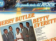 JERRY BUTLER BETTY EVERETT  CLEFTONES disco LP 33 GRANDE STORIA ROCK 73  SEALED