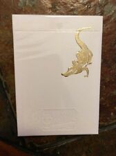 David Blaine Gold Foil Gatorbacks 1 Deck NEW FREE SHIPPING
