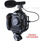 Pro DC/DV Stereo Microphone MIC for Canon Camera EOS 5D Mark II III 7D 6D EOS-M