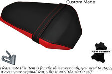 RED & BLACK CUSTOM FITS YAMAHA YZF R 125 FACELIFT 14-15 REAR SEAT COVER