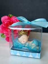 12PC Baby Shower King Boy Party Favors Figurines Recuerdos De Nino Decorations