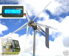 "KT Ghost 74"" 5 Blade Wind turbine 48 VAC 3-ph 6.3 kW FREE SEA400 + WATT METER"