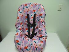Little Mermaid (Disney) toddler car seat cover-new-handmade