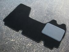 Black Car/Van Mat to fit Vauxhall Movano (1998-2010) - FREE COLOURED TRIM!