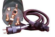 Bada SP300 Audiophile Power Cord Cable Schuko Plug 1.8M Brand New