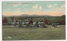 USA, Cannon at Stark Park, Manchester N.H. Postcard, A821
