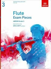 ABRSM Exam Pieces 2014-2017 Flute Part Learn to Play Student Music Book Grade 3