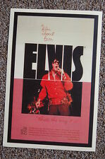 "Elvis Lobby Card Movie Poster A Film about him ""Thats the way it is"""