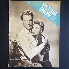 Rare! PICTURE SHOW & FILM PICTORIAL Magazine 29 July 1944 Gary Cooper Donna Reed
