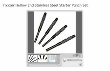 Fixxxer Hollow End Stainless Steel Starter Punch Set 15 - Great for AR builds