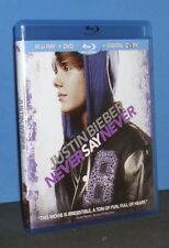 Justin Bieber: Never Say Never (Blu-ray/DVD, 2011, 2-Disc Set)